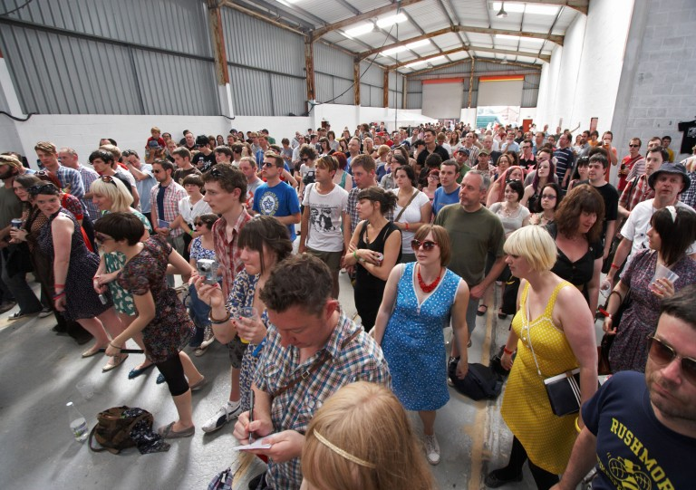 05 Indietracks indoor stage